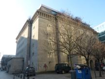 15. Feb., 14:56 Uhr. Reichsbahnbunker mit der Sammlung Boros. Endlich wieder an der frischen Luft